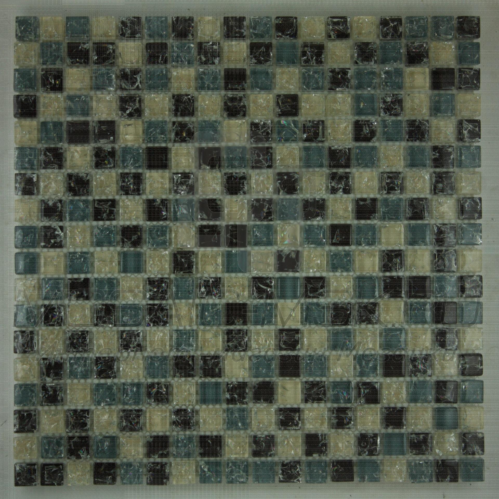 Мозаика стеклянная   A 304 (8*15*302)