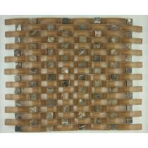 Мозаика стеклянная FJK-B 001 Рогожка  (8*20*280*325)