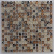 Мозаика стеклянная   DGS 091 B  (6*15*300)