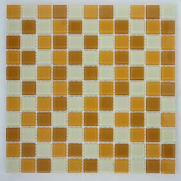Мозаика стеклянная  MIX 015  (4*25*300)