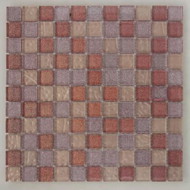 Мозаика стеклянная  LGDHIK 004  (8*25*300)